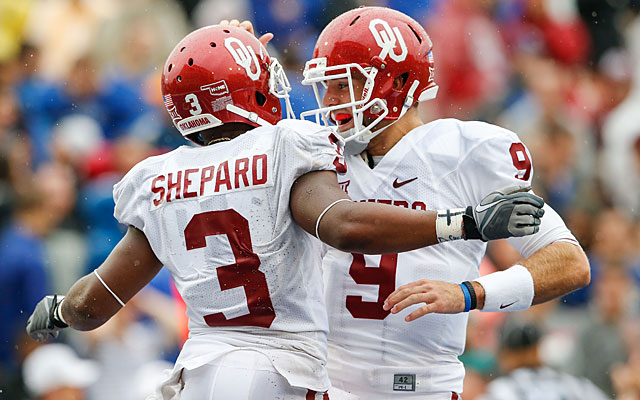 Sterling Shepard has been a prolific, and explosive, target for Sooners QB Trevor Knight. (USATSI)