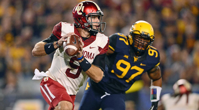 LIVE: No. 4 Sooners in control at West Virginia