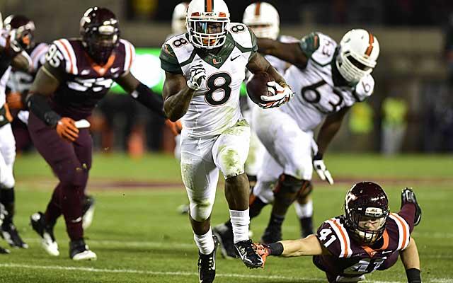 2015 NFL Draft: Duke Johnson, Canes OL storm through ...