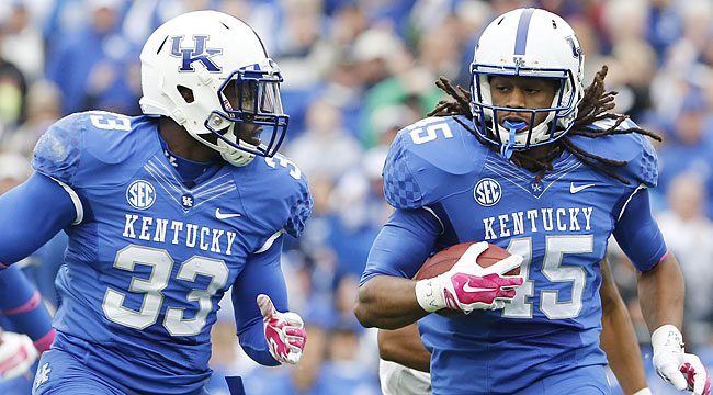 Halftime: No. 1 Miss. State 17, Kentucky 10