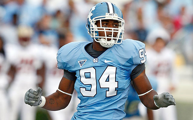 Michael McAdoo, a UNC player from 2008-10, says he was steered away from his desired major. (Getty Images)