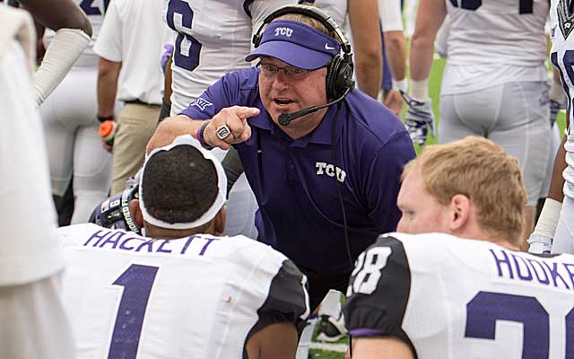 Gary Patterson took TCU to another level when he changed his offense.  (USATSI)