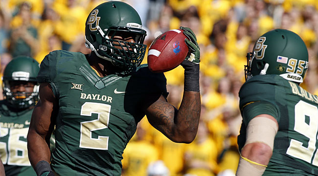 LIVE: No. 7 Baylor gets out in front of Okla. St.