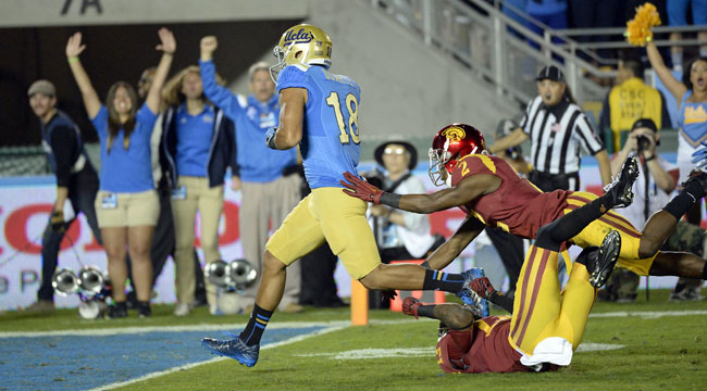LIVE: UCLA has big lead in key Pac-12 South meeting