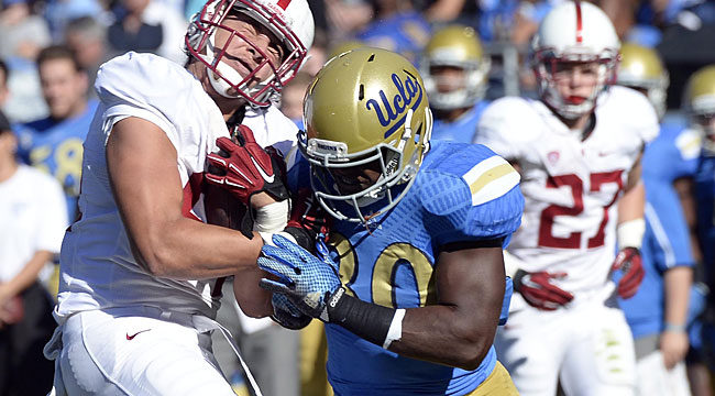 Stanford ends UCLA's Pac-12 South hopes