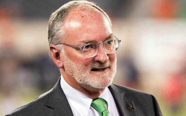 Notre Dame AD Jack Swarbrick has some interesting opinions on compensating players. (USATSI)