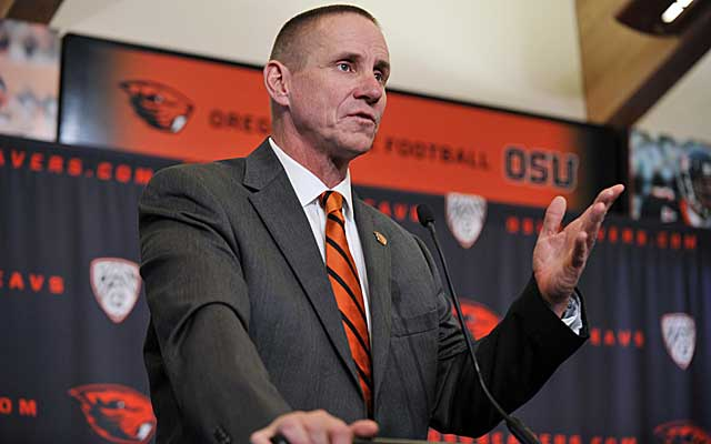 Gary Andersen raised eyebrows when he left Wisconsin for Oregon State. Now we know why he did. (USATSI)