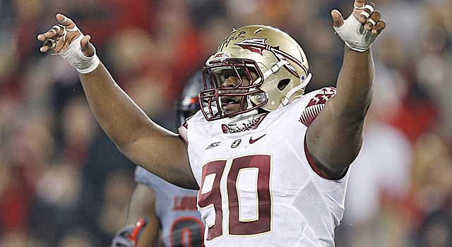 Florida State's Eddie Goldman has the makeup to be a disruptive force. (Getty Images)