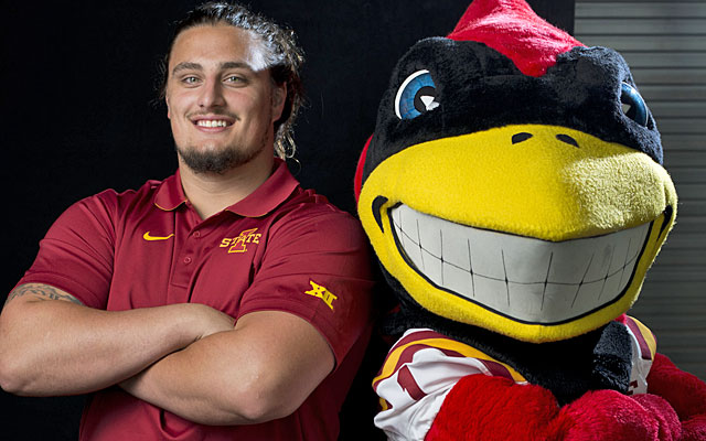 Iowa State's Tom Farniok wants people to know how much time players spend on their sport. (Getty Images)