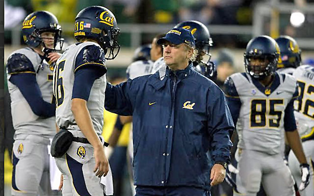 Tony Franklin gushes about Cal quarterback Jared Goff.  (Cal Athletics)