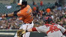 Live MLB: Red Sox-Orioles