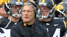 Is Ferentz safe at Iowa?