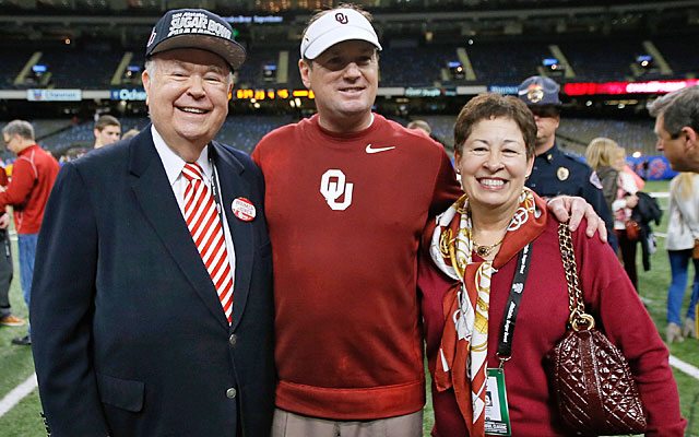 Oklahoma president David Boren (left) has re-ignited expansion talk. (Getty Images)