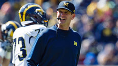 Harbaugh's debut