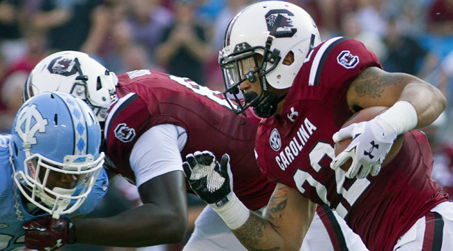 Live: South Carolina surges into lead in 4th
