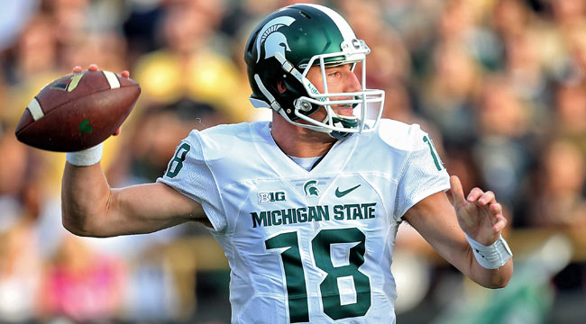 LIVE: No. 5 Spartans lead at W. Michigan
