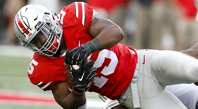LIVE: Top-ranked Ohio St. answers Terps TD