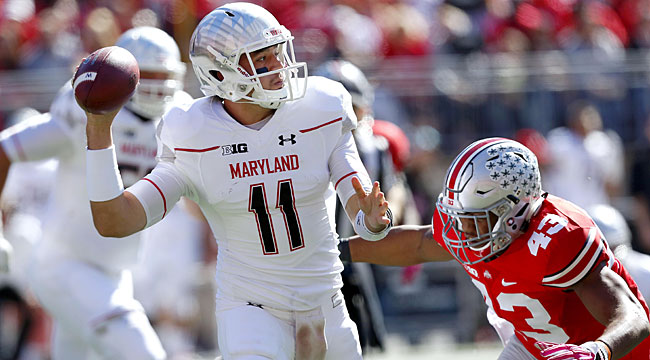 LIVE: Terps tie No. 1 Ohio St. early in 2nd half