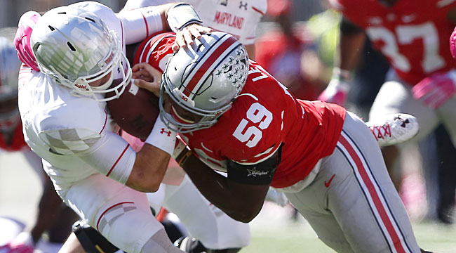 LIVE: Top-ranked Ohio St. aims to finish off Terps