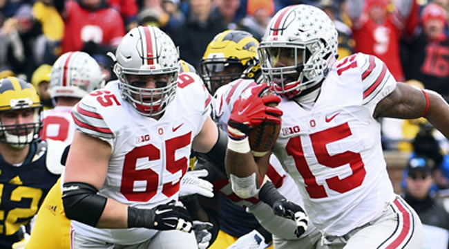 Ohio State pounds rival Michigan in Ann Arbor