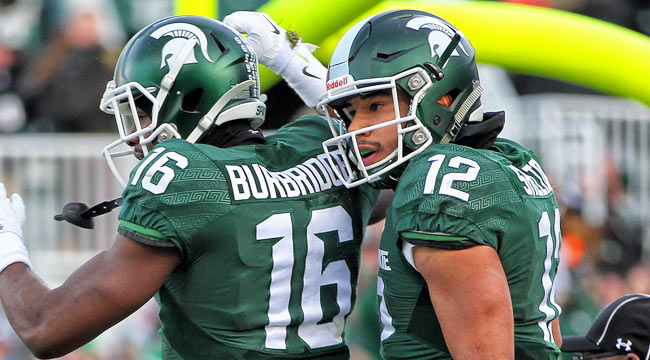 LIVE: Spartans up on PSU., eye title game spot