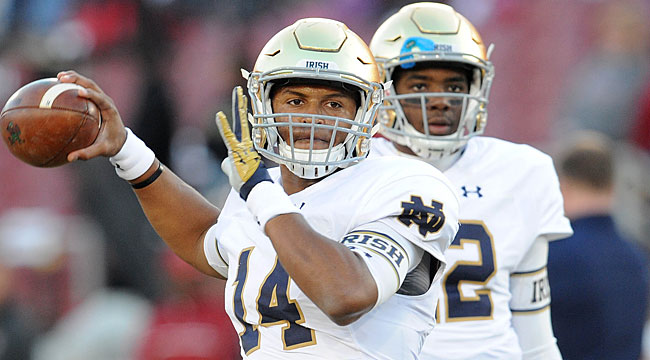 LIVE: No. 6 Notre Dame in battle at Stanford