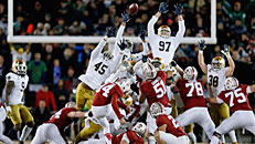 Stanford over Irish in thriller