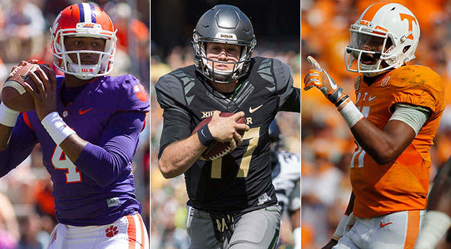 Dodd: Top 10 QBs for '17