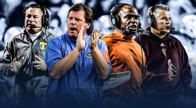 Power Five coaches, ranked