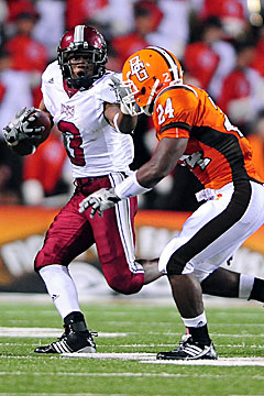 Last season, Jernigan caught 71 passes for 1,101 yards and four touchdowns for Troy. (US Presswire)
