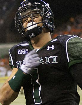 Greg Salas is a possession receiver who will garner some attention from NFL scouts. (AP)