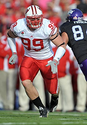 Scouts say J.J. Watt's combine performance was similar to Adam Carriker's four years ago. (US Presswire)