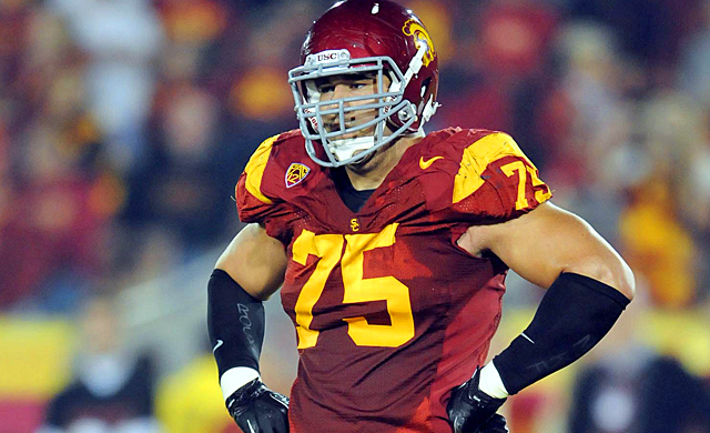 USC's Matt Kalil is one of the better offensive linemen in this year's NFL Draft. (US Presswire)