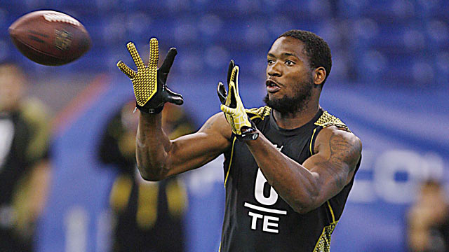 Louisana-Lafayette TE Ladarius Green offers plenty of athleticism to stretch the field. (US Presswire)