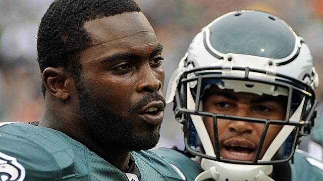 A more-careful Vick and a happier DeSean Jackson could be part of a big season in Philly. (AP)