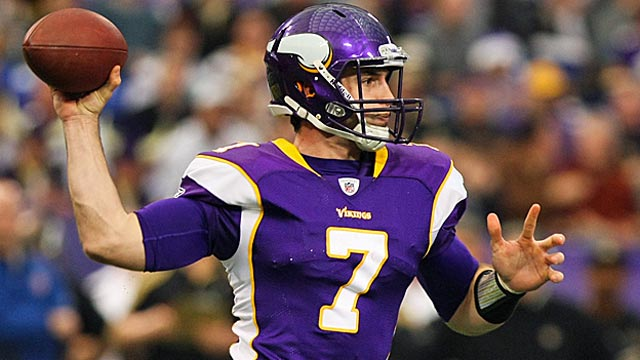 The Vikings have turned their offense over to Christian Ponder. (US Presswire)