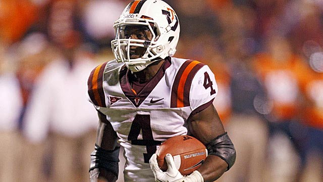 In his only full season at Virginia Tech, David Wilson was named ACC Player of the Year. (US Presswire)
