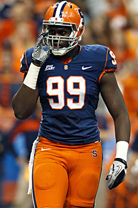Chandler Jones boasts an impressive array of moves and is a high-effort player, (US Presswire)