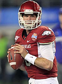 Tyler Wilson has the qualities NFL teams want in a QB. (US Presswire)