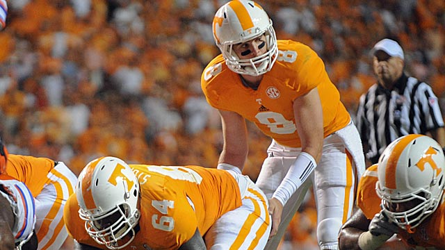Tyler Bray opened eyes last season before a thumb injury derailed him. (US Presswire)
