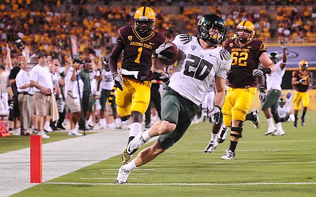 John Boyett had a decorated career at Oregon before missing almost all of the 2012 season with knee issues.