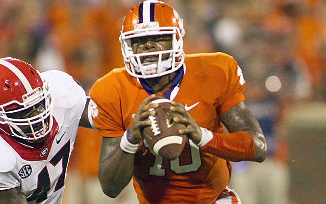 Could Tajh Boyd be the next Russell Wilson? (USATSI)
