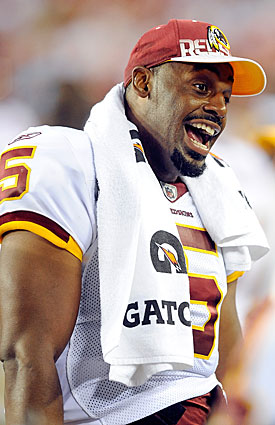 Donovan McNabb's first chance to hear Philly fans again will be when the Redskins visit on Oct. 3. (Getty Images)