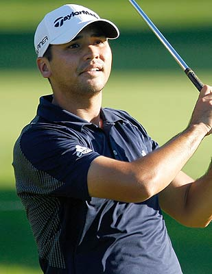 Jason Day, 22, has a run of birdies late to take the lead. (Getty Images)