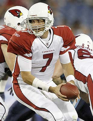 Matt Leinart has been competing with Derek Anderson for the starting job. (AP)