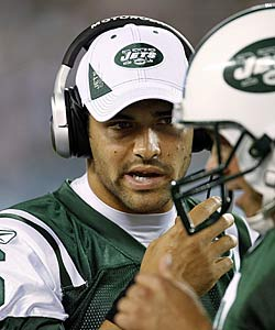 Mark Sanchez will bear lots of pressure for a second-year QB. (Getty Images)