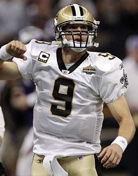 Drew Brees is bringing his high profile to the NFL's labor fight. (AP)