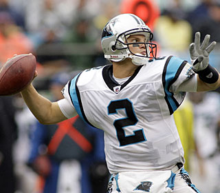 'I felt comfortable in both the first and second halves,' says Jimmy Clausen, who throws for 188 yards. (AP)