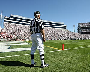 The NFL could use the odd 17th game to play in non-pro venues like Happy Valley. (Getty Images)