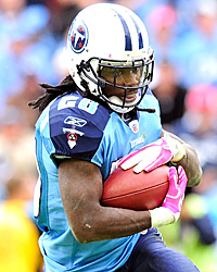 Chris Johnson has been up and down and is due for a big week. (Getty Images)